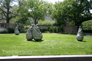 Hirshorn Museum and sculpture garden in Washington, DC