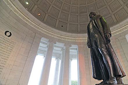 Jefferson Memorial in Washington, DC