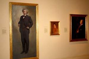 Smithsonian National Portrait Gallery - Mark Twain portrait