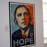 Smithsonian National Portrait Gallery - Obama portrait