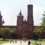 Smithsonian Castle on the National Mall in Washington, DC