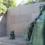FDR memorial in Washington, DC