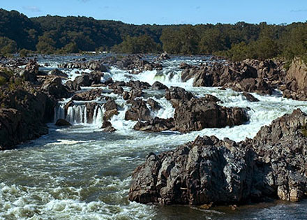 Great Falls Park outside of Washington, DC -- McLean Virginia