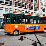 old town trolley in Washington DC