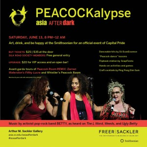 PEACOCKalypse: Asia After Dark