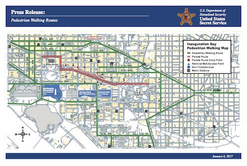 Pedestrian Walking Routes