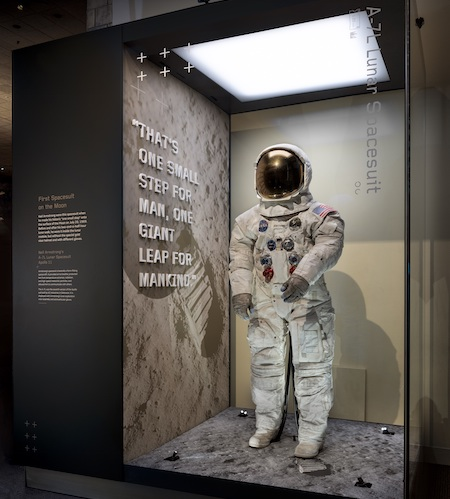 Apollo 11 spacesuit